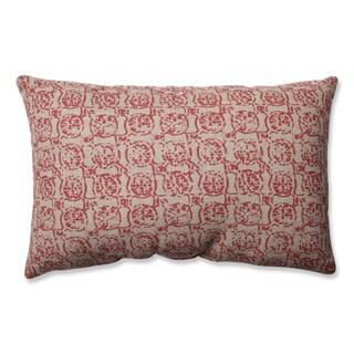 Pillow Perfect Castille Salmon Throw Pillow