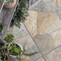 SomerTile 17.375x17.375-inch Liva Rustico Porcelain Floor and Wall Tile (7 tiles/14.67 sqft.)