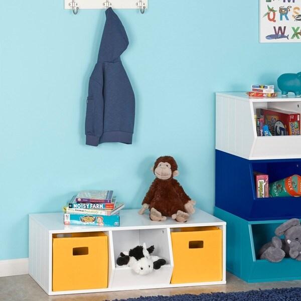 Charmant RiverRidge Kids Storage Stacker With 2 Cubbies And 1 Veggie Bin
