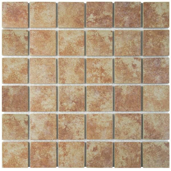 Somertile centennial quad mesa porcelain for 10 inch floor tiles