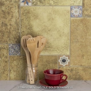 SomerTile 12.5x12.5-inch Azorin Cotto Ceramic Floor and Wall Tile (16 tiles/17.22 sqft.)