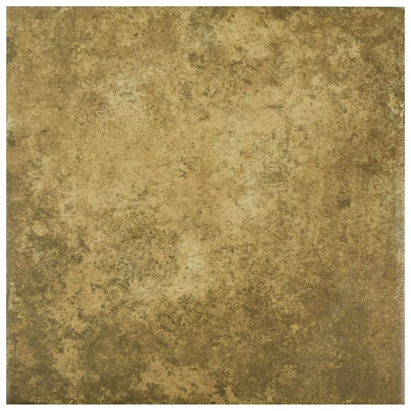 Shop SomerTile Xinch Azorin Cotto Ceramic Floor And Wall - 12 inch ceramic floor tiles