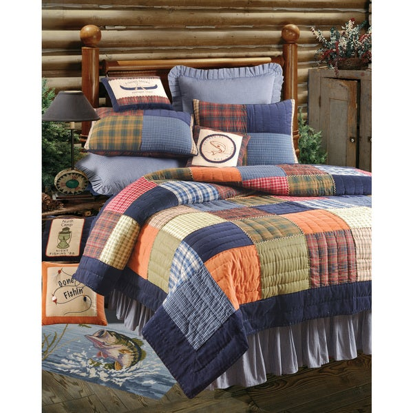 Northen Plaid Quilt (Shams Not Included)