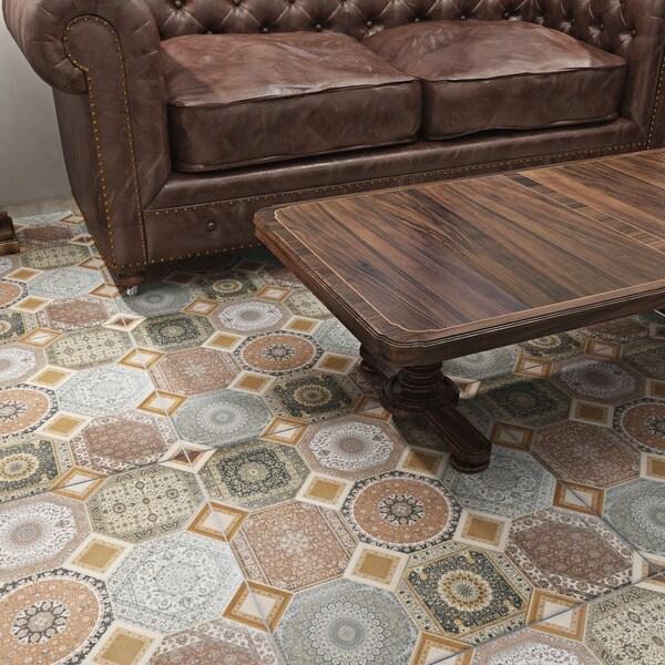 Somertile 23 625x23 625 Inch Jasmin Rustic Ceramic Floor