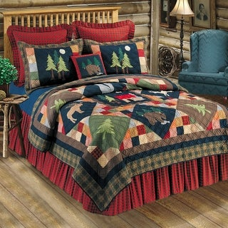 Pine Canopy Angelina Cotton Quilt (Shams Sold Separately)