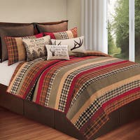 Pine Canopy Angelina Cotton Patchwork Quilt (Shams Sold Separately)