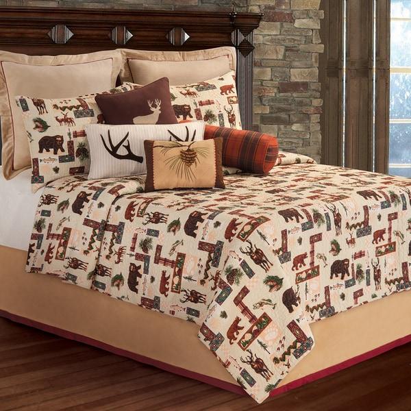 Dakota Lodge Cotton Quilt (Shams Not Included)
