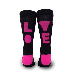 Inspyr Socks, Love Athetic Lifestyle Crew Sock Large