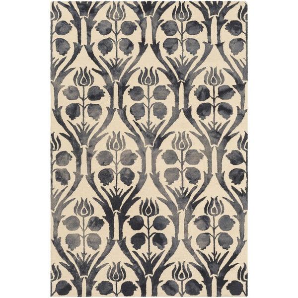 Hand Hooked Rutland Floral Wool Rug 5 X 7 6 17611220