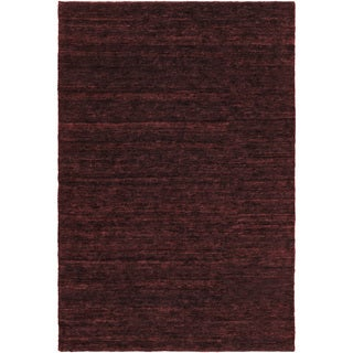 Hand-Knotted Joselyn Solid Indoor Jute Area Rug