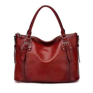 Vicenzo Leather Ryder Shoulder Tote Handbag