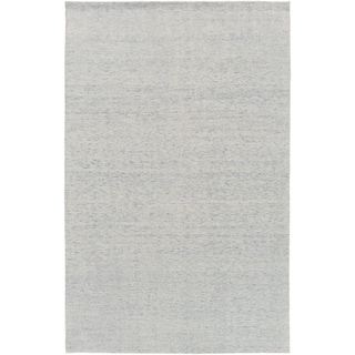 Hand-Knotted Swanage Solid Indoor Rug (6' x 9')