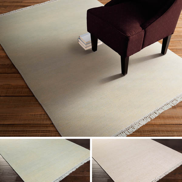 Hand-Knotted Swanley Solid Indoor Rug (5' x 7'6)