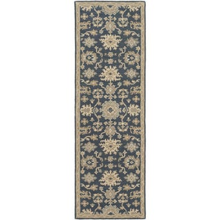 Copper Grove Palakunta Hand-Tufted Floral Wool Runner Rug
