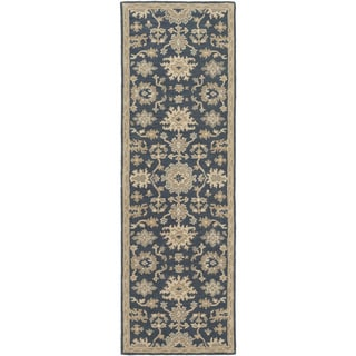 Hand-Tufted Tipton Floral Wool Rug (2'6 x 8')