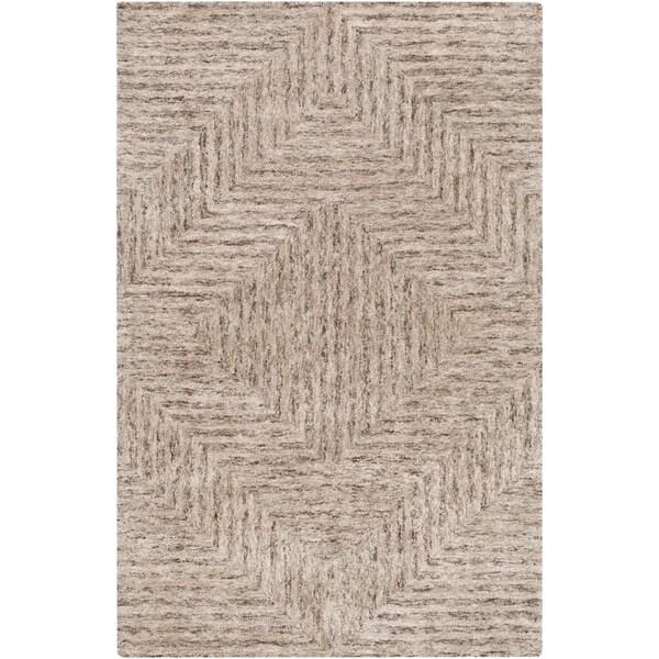 "Hand-Tufted Woburn Geometric Indoor Area Rug - 5' x 7'6"""