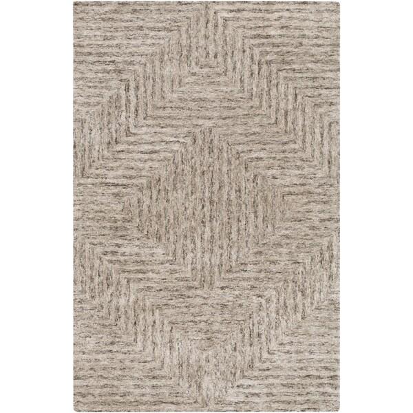 Hand-Tufted Woburn Geometric Indoor Rug (5' x 7'6)