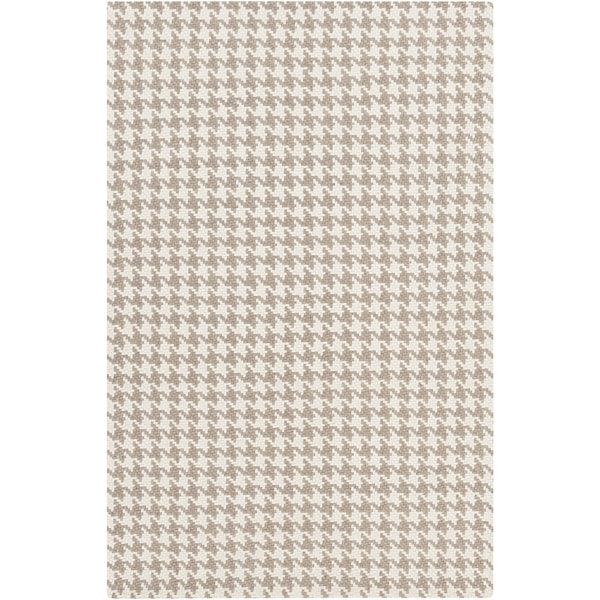 Hand-Woven Roberta Transitional Felted Wool Area Rug