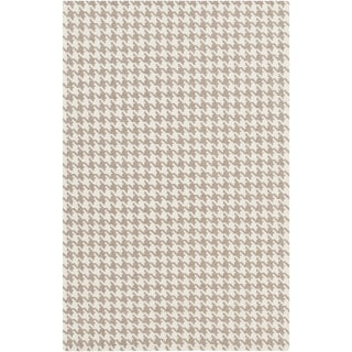 Hand-Woven Roberta Transitional Felted Wool Rug (5' x 8')