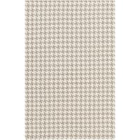 Hand-Woven Roberta Transitional Felted Wool Area Rug - 5' x 8'