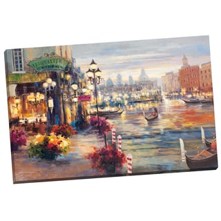 Portfolio Canvas Decor Lawson Grand Canal 24x36 Wrapped/Stretched Canvas Wall Art