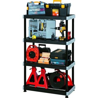 RIMAX Heavy Duty 4-shelf Storage Rack