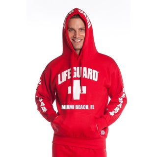 Officially Licensed Men's Miami Beach Lifeguard Hoodie (More options available)