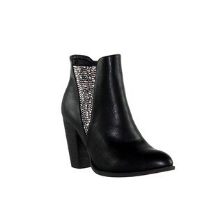 Olivia Miller 'St. Marks' V Multi Heat Sealed Ankle Booties