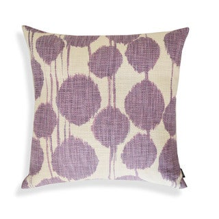 Shaded 18-inch Ikat Designer Pillow