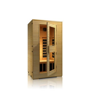 JNH Lifestyles Vivo 2-person Low-EMF Far Infrared Wood Sauna