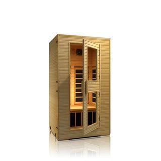 JNH Lifestyles Vivo 2-person Low-EMF Far Infrared Wood Sauna