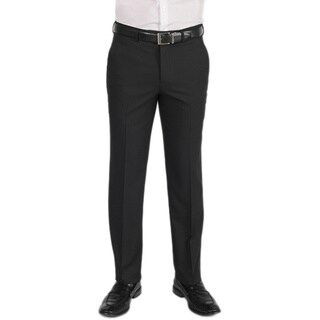 Dockers Performance Men's Variegated Herringbone Slim Fit Black Pant
