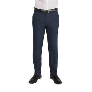 Dockers Performance Men's Variegated Herringbone Slim Fit Navy Pant