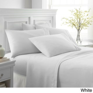 Merit Linens Ultra-soft 6-piece Bed Sheet Set (White - King)