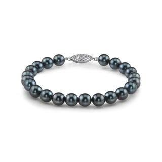 Radiance Pearl 14k Gold AAA-quality Black Akoya Pearl Bracelet (6-6.5mm)|https://ak1.ostkcdn.com/images/products/10529112/P17611558.jpg?_ostk_perf_=percv&impolicy=medium