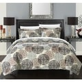 Chic Home Kenny Boho Inspired Reversible Print 7-piece Quilt Set