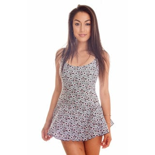 Dippin' Daisy's Women's Bandana Print One-piece Swimdress