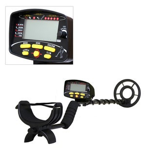 PHMD72 Metal Detector Waterproof Search Coil Pin-Point Detect Adjustable Sensitivity Headphone Jack Digital LCD Display