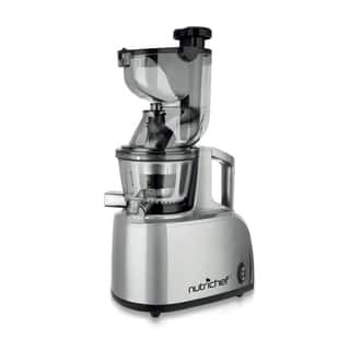 NutriChef PKSJ40 Countertop Masticating Slow Juicer and Drink Maker|https://ak1.ostkcdn.com/images/products/10529185/P17611621.jpg?impolicy=medium