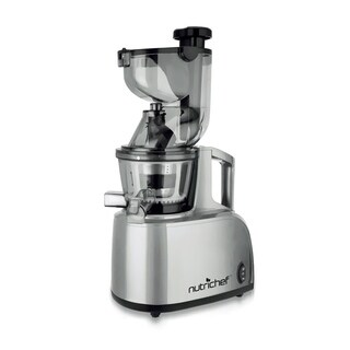 NutriChef PKSJ40 Countertop Masticating Slow Juicer and Drink Maker