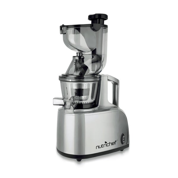 Slow Juicer Black Friday Deals : NutriChef PKSJ40 Countertop Masticating Slow Juicer and Drink Maker - Free Shipping Today ...