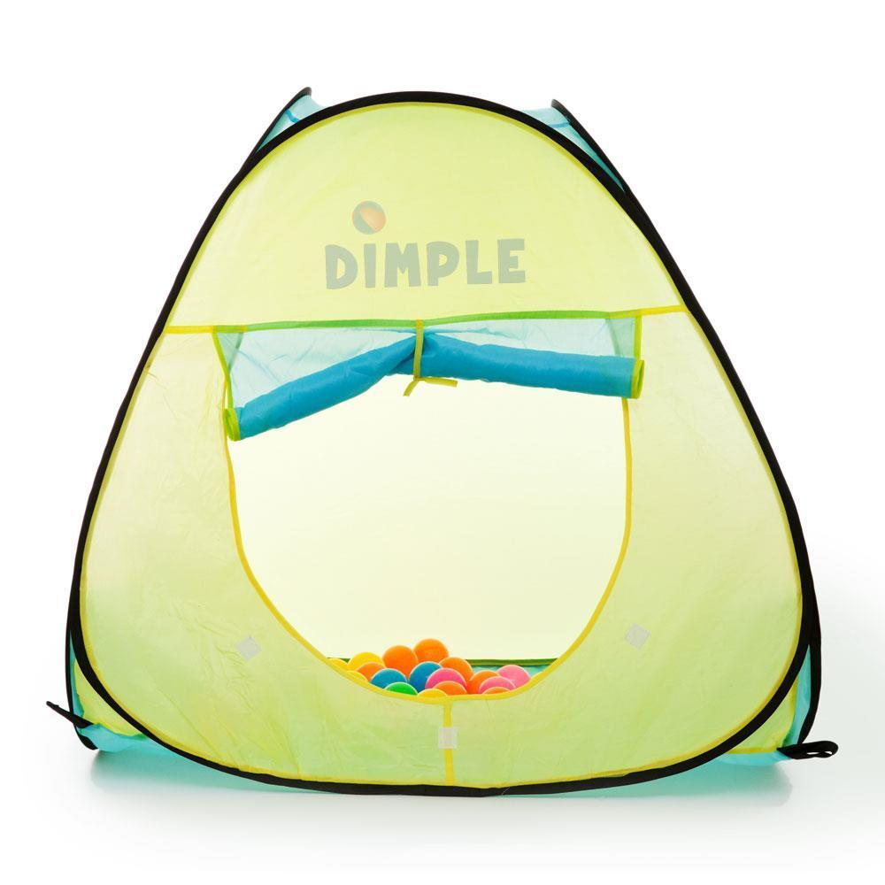 Dimple Children's Pop Up Triangle Tent with 50 Balls DC11...
