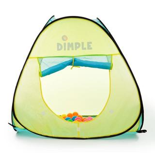 Dimple Children's Pop Up Triangle Tent with 50 Balls DC11879