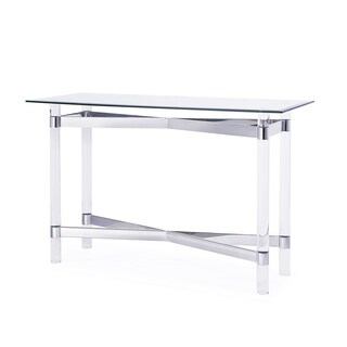 Townsend Console Table, Silver