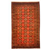 Herat Oriental Afghan Hand-knotted Tribal Balouchi Wool Rug (3' x 5') - 3' x 5'