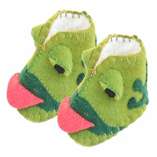 Kid's Frog Wool Zooties (Kyrgyzstan)