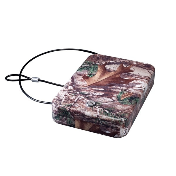 Stack-On Portable Steel Case with Key Lock Realtree Xtra