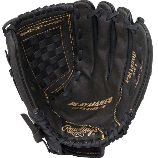 Rawlings Playmaker 13-inch Adult Baseball/ Softball Glove RH