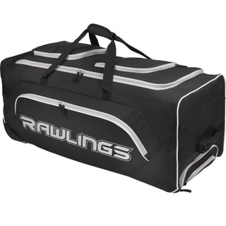 Rawlings Wheeled Catcher's Bag Black