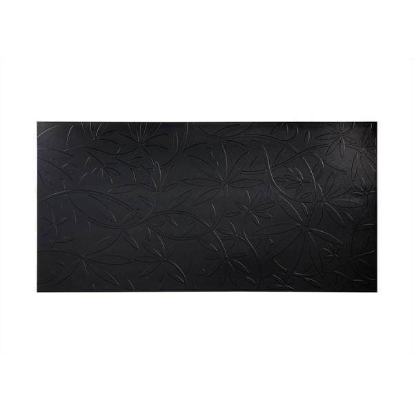 Fasade Audrey Black 4 Foot X 8 Foot Wall Panel Free